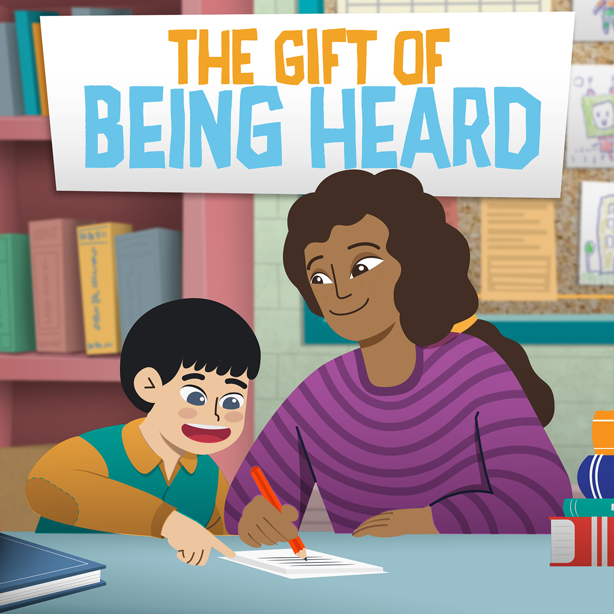 The gift of being heard